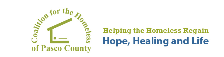 Coalition for the Homeless of Pasco County logo